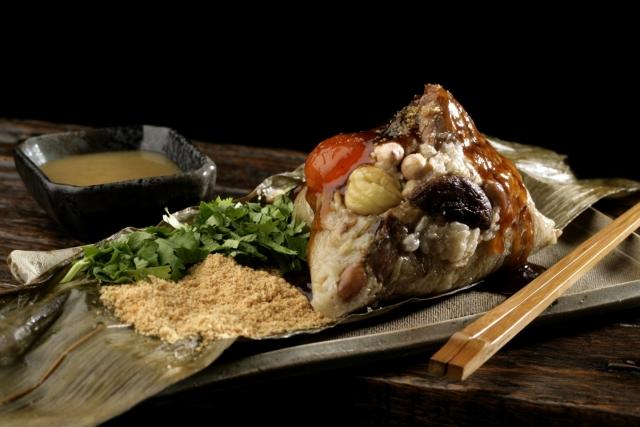 特製肉粽Special Pork Zongzi 1