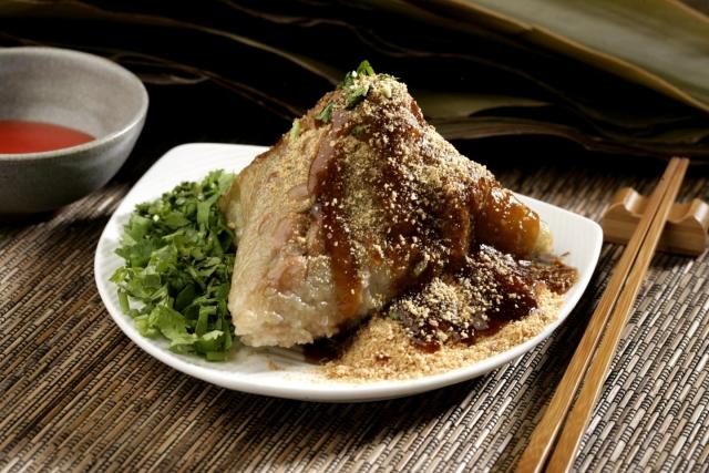 菜粽 Peanut Zongzi 1