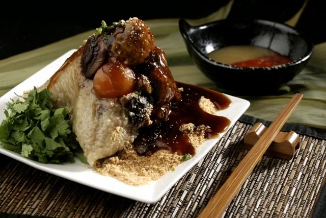 肉粽 Pork Zongzi 1